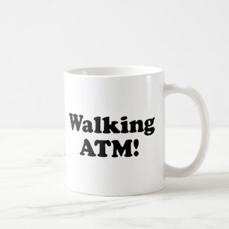 Walking ATM! Basic White Mug