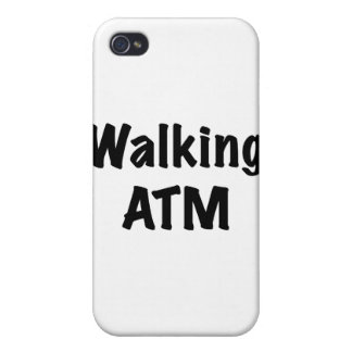 Walking ATM iPhone 4 Cover