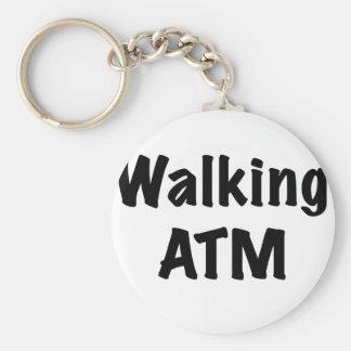 Walking ATM Keychain