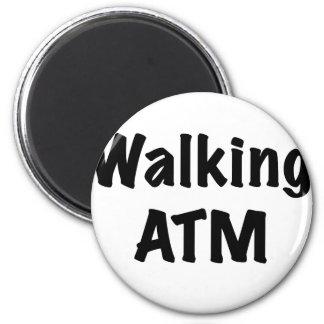 Walking ATM Refrigerator Magnet