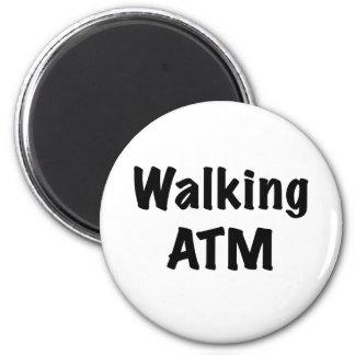 Walking ATM Fridge Magnet