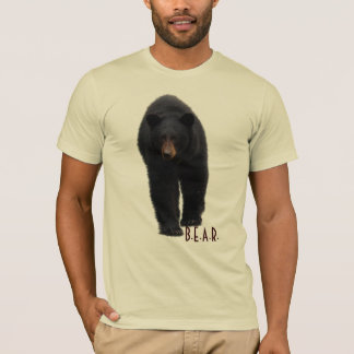 Walking Black Bear Wildlife-Supporter T-Shirt