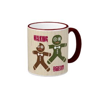 Walking Bread Ringer Coffee Mug