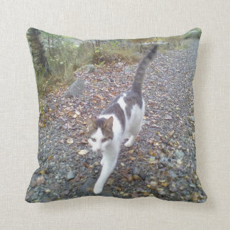 Walking Cat Cushion