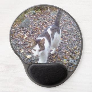 Walking cat gel mouse pads