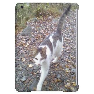 Walking cat iPad air cover