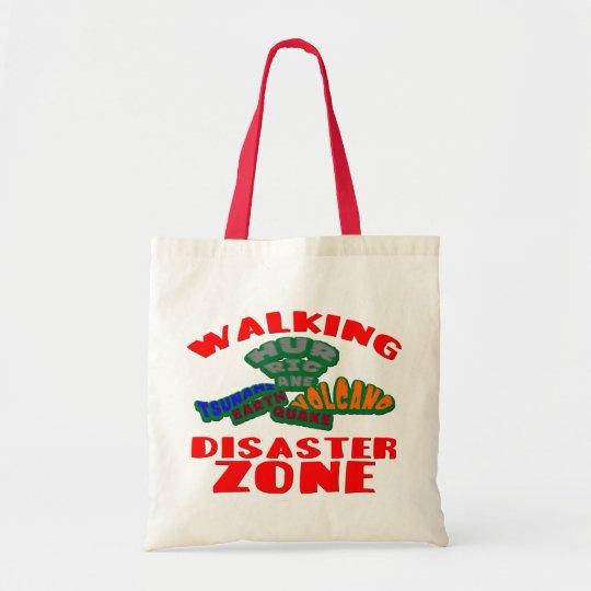 Walking Disaster Zone Tote Bag