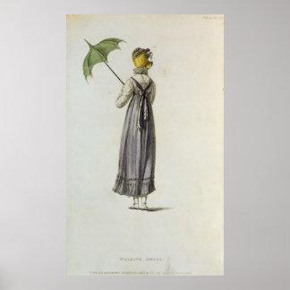Walking Dress, 1814 Print