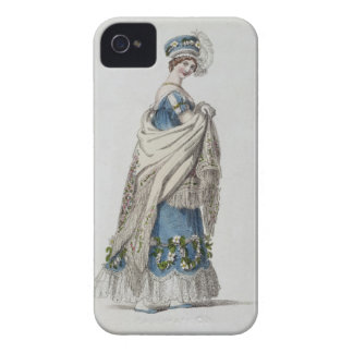 Walking dress, fashion plate from Ackermann's Repo iPhone 4 Cover