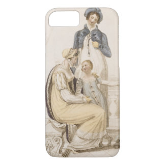 Walking Dresses, fashion plate from Ackermann's Re iPhone 8/7 Case