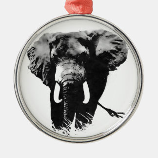 Walking Elephant Christmas Tree Ornament