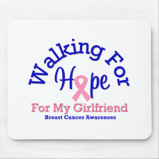 Walking For Hope For My Girlfriend Mouse Mat