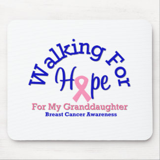 Walking For Hope For My Granddaughter Mouse Pads