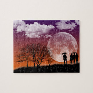 """""""Walking in front of the moon"""" Puzzle"""