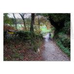 Walking in Galicia Card