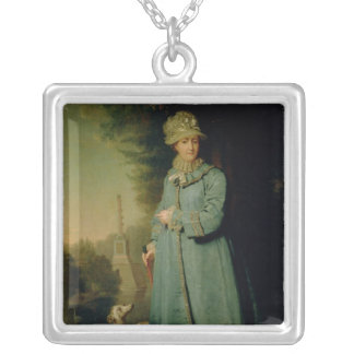 Walking in the Park at Tsarskoye Selo  1794 Silver Plated Necklace