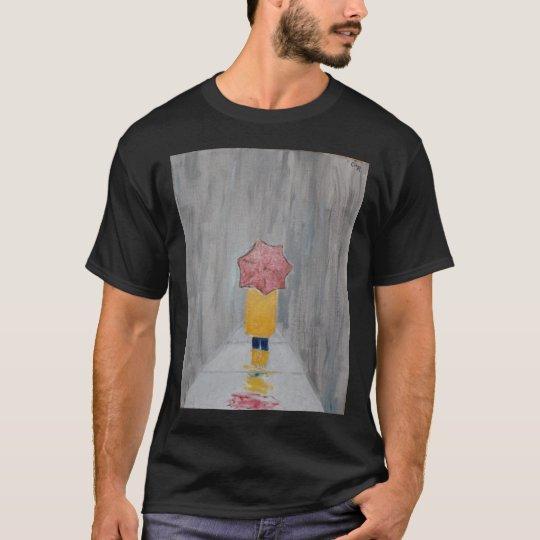Walking in the rain T-Shirt