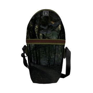 Walking In The Woods Rickshaw Messenger Bag