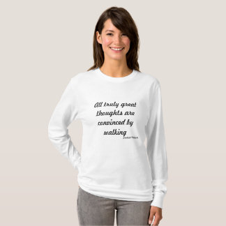 Walking Journey ~Great Thoughts T-Shirt