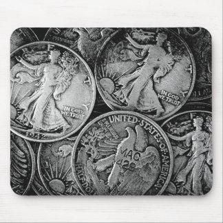 Walking Liberty Coins Mouse Pad