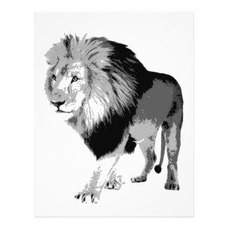 Walking Lion 21.5 Cm X 28 Cm Flyer