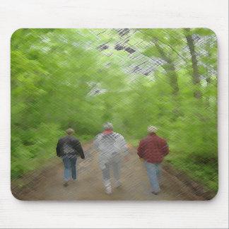 Walking Mouse Pad