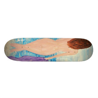 Walking on the Beach Skateborad Deck Custom Skateboard