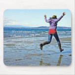 Walking on Water Mouse Pad