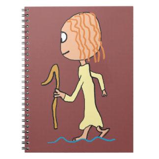 Walking on Water Notebook