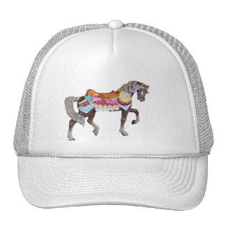 Walking Painted Carousel Pony Cap
