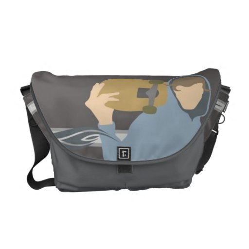 Walking Skater Courier Bags