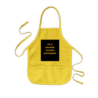 walking statement humour apron