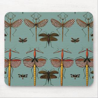 Walking sticks, Katydids and Dragonflies Mousepad