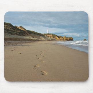 Walking the beach, Great Ocean Road Australia Mouse Pad