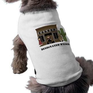 Walking the Dog - Western Dog Shirt