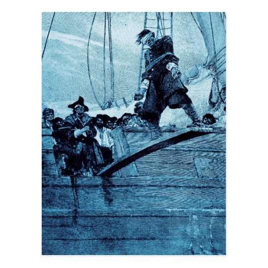Walking the Plank Postcard