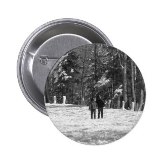Walking Through the Woods Pinback Buttons