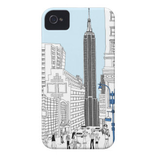 Walking Tourists iPhone 4 Cover