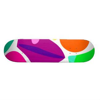 Walking toward the Sun Custom Skateboard