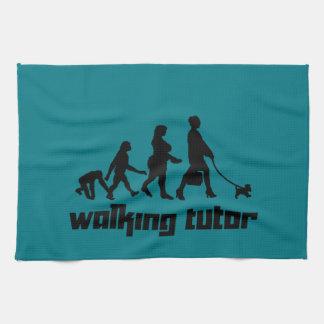 Walking Tutor Tea Towel