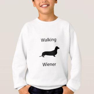 Walking wiener sweatshirt