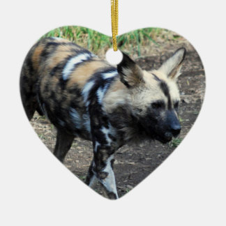 Walking Wild Dog Ornament