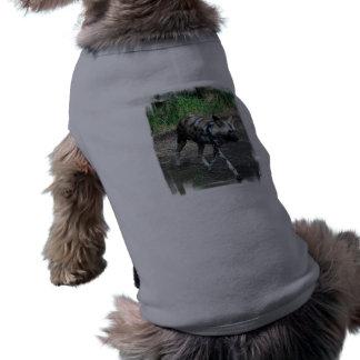 Walking Wild Dog Pet Shirt