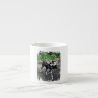 Walking Wild Dog Specialty Mug Espresso Mug