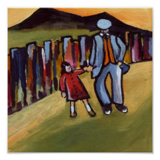 WALKING WITH GRANDAD POSTER