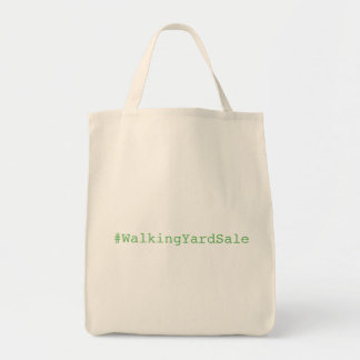 Walking Yard Sale Grocery Tote