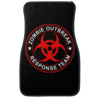Walking Zombie Dead Response Team Car Floor Mats