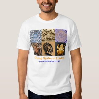 Walks in London T Shirt Architectural Details