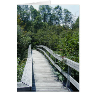 """""""Walkway, Green Mountain National Forest"""" Card"""