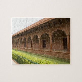 Walkway in front of a mausoleum, Taj Mahal, Jigsaw Puzzle